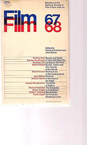 Film 67/68, an Anthology by the National: Richard Schickel &