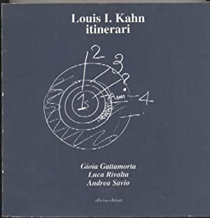 Louis Kahn, Itinerari