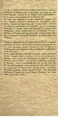 Lamela urbanistica y arquitectura: Elida Margitic / Carlos Lamela / Antonio Lamela