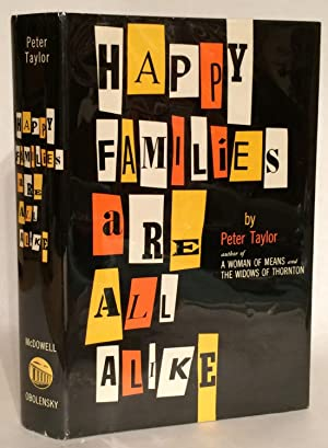 Happy Families Are All Alike. A Collection of Stories.