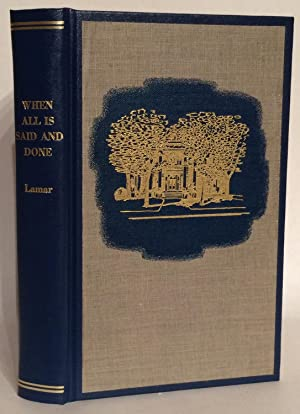 When All Is Said and Done.: Lamar, Dolly Blount
