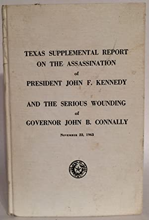 Texas Supplemental Report on the Assassination of: Carr, Waggoner