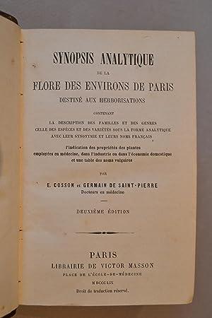 Synopsis analytique de la Flore des environs de Paris destiné aux herborisations.: COSSON & ...