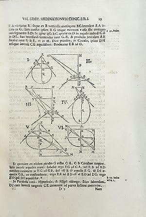 De locis solidis, secunda divinatio geometrica. Opus conicum.: VIVIANI, Vincenzo.