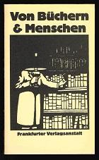 Anthologie). - - Von Büchern & Menschen
