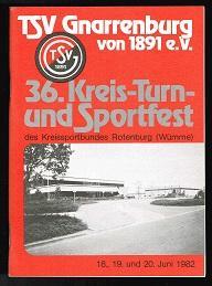 TSV Gnarrenburg von 1891 e.V.: 36. Kreis-Turn-: Bullwinkel, Harry (Red.):