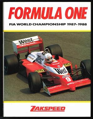 Formula One: FIA World Championship (1987-)1988 (FIA Yearbook 1988). -