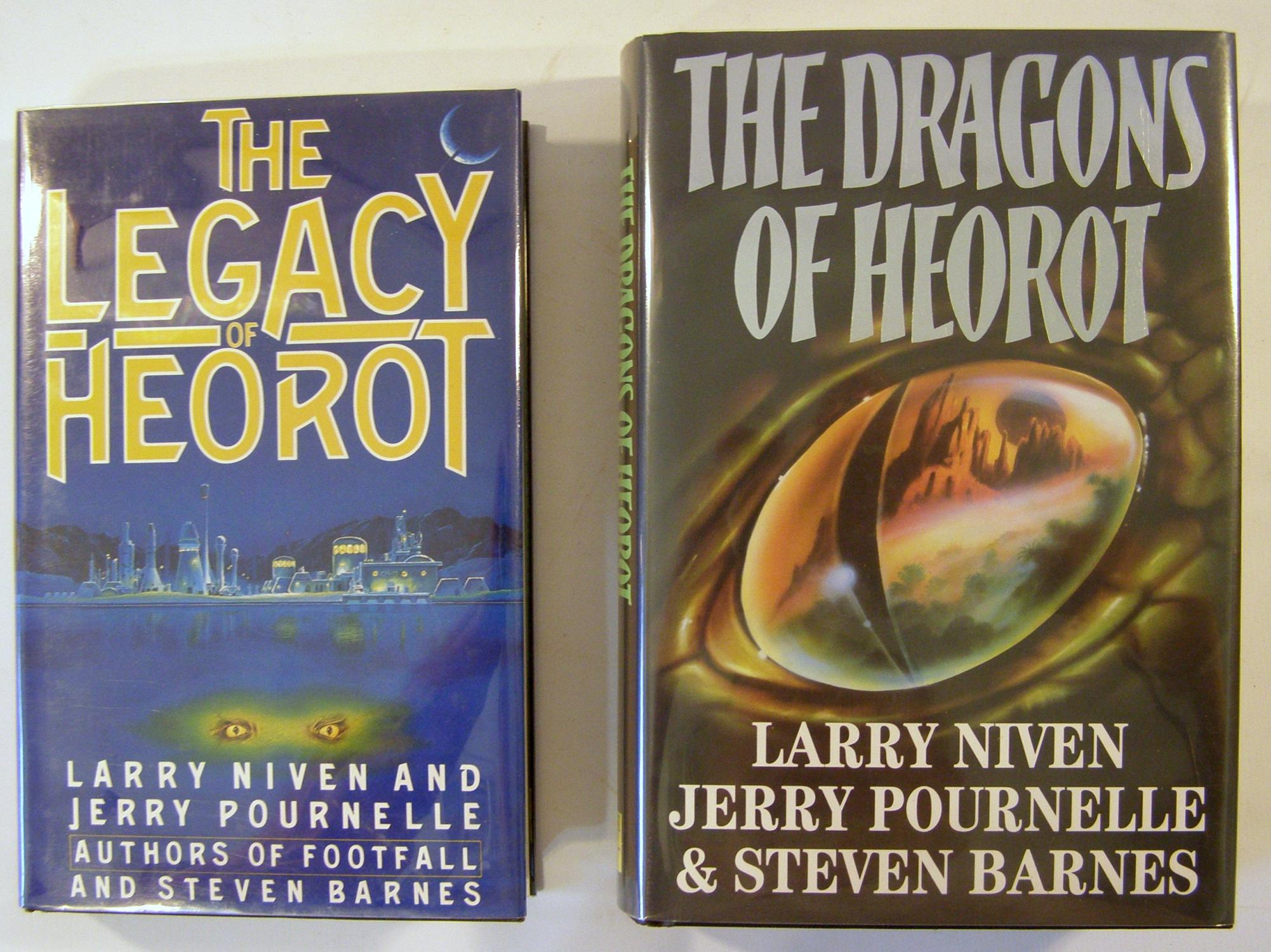 the legacy of herot; the dragons of heorot (signed)niven, larry