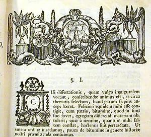 Dissertatio Inauguralis Medica Sistens Examen Bituminis Neocomensis .: L'Agascherie du Ble, Charles...