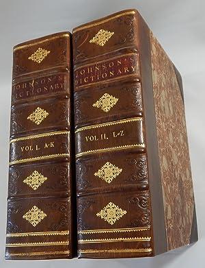 A Dictionary of the English Language .: Johnson, Samuel