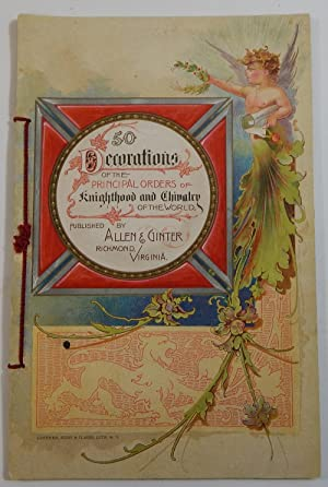 50 Decorations of the Principal Orders of: Allen & Ginter