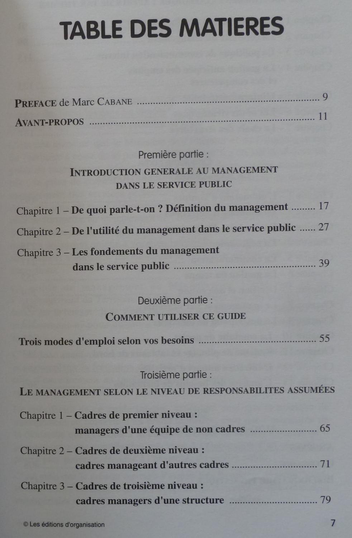 ... GUIDE DU MANAGEMENT DANS LE SERVICE PUBLIC: ALECIAN SERGE / DOMINIQUE  FOUCHER ...