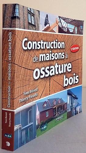 Construction a ossature bois abebooks for Livre construction bois