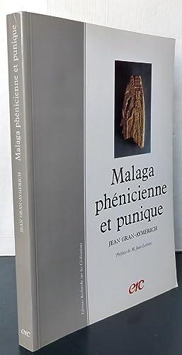 MALAGA PHENICIENNE ET PUNIQUE: Jean GRAN-AYMERICH