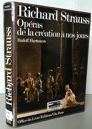 Richard Strauss Opéras de la création à: Rudolf Hartman