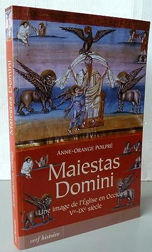 MAIESTAS DOMINI ; UNE IMAGE DE L'EGLISE: POILPRE ANNE-ORANGE