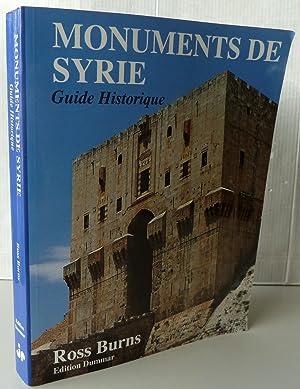 Monuments de Syrie Guide historique: Ross Burns