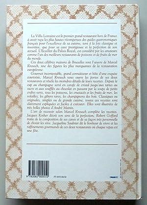 LA CUISINE DE LA VILLA LORRAINE ET DE L'ECAILLER DU PALAIS ROYAL: KREUSCH MARCEL