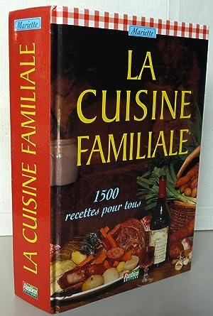 La cuisine familiale de mariette abebooks for Cuisine familiale