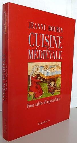 cuisine medievale by bourin abebooks. Black Bedroom Furniture Sets. Home Design Ideas