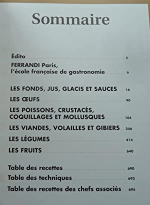 Le Grand Cours De Cuisine Ferrandi L Ecole Francaise De
