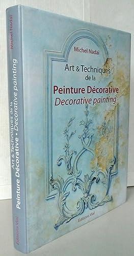 Art & techniques de la peinture décorative: Michel Nadaï