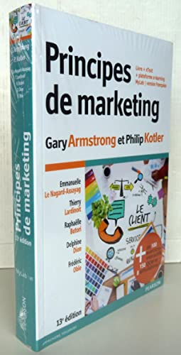 Gary armstrong philip kotler abebooks principes de marketing 13e dition livre gary armstrong philip fandeluxe Images