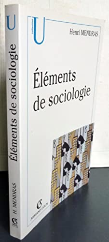 ELEMENTS DE SOCIOLOGIE ; 5E EDITION