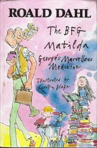 Roald Dahl Omnibus The BFG, Matilda, George's: Dahl, Roald