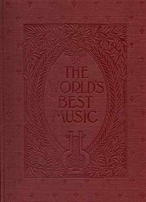 The World's Best Music : Famous Songs (Three Volumes - Vols. 6, 7 & 8 + Index): Herbert, ...