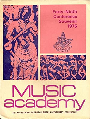 Music Academy, Sri Muttuswami Dikshitar Birth Bi-Centenary: Editors, The Music