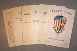 The Journal of the Fellowship of U. S.- British Comrades (Vol. 1, Nos. 1, 2, 3, 4, plus Directory ...