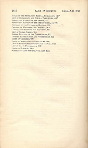 Minutes of the General Assembly of the Presbyterian Church in the United States of America. New ...