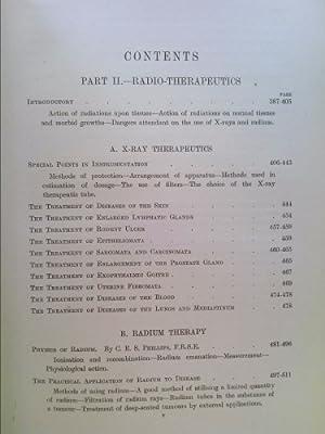 Radiography and radio-therapeutics: Knox, Robert
