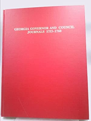 Georgia Governor and council Journals 1753-1760: Warren, Mary Bondurant
