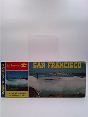40 Views San Francisco ; Postcard Booklet: Not Stated