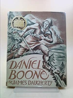 Daniel Boone with Original Lithographs in Color: Daugherty, James
