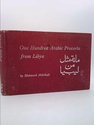 arabic proverbs - First Edition - Books - AbeBooks
