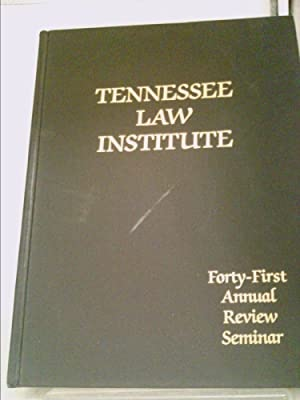 tennessee law - First Edition - AbeBooks