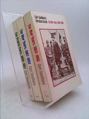 Carl Sandburg's Abraham Lincoln: 3 Volume Set: Carl Sandburg