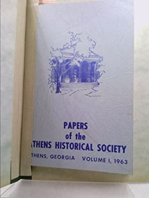 Papers of the Athens Historical Society, Athens,: Mary Bondurant Warren