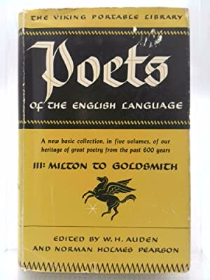 Poets of the English Language Vol. III: Auden, W. H.