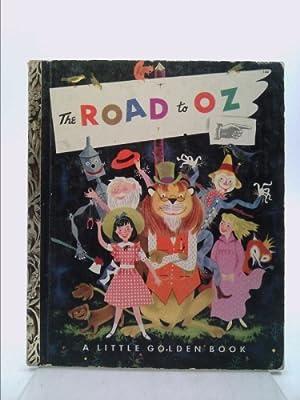 Road To Oz Little Golden Book 1ST: Baum, L Frank;