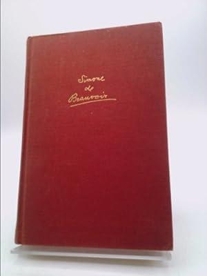 the Prime of Life (Volume 2 of: Beauvoir, Simone de)