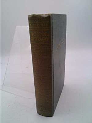 Doctor Zhivago Hardcover By Boris Pasternak 1958: Boris Pasternak; Bernard
