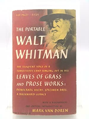The Portable Walt Whitman: Walt Whitman