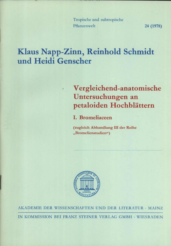 Klaus Napp Zinn - AbeBooks