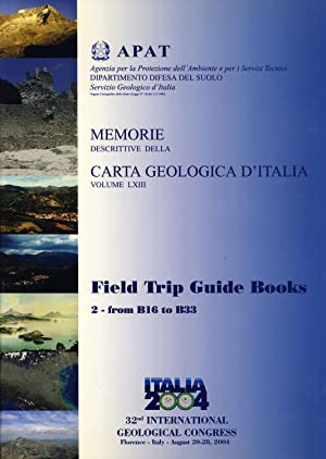 Field Trip Guide Books. Volume 2: From B16 to B33 (32nd International Geological Congress, Florence...