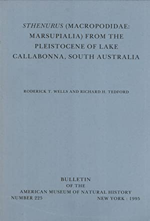Sthenurus (Macropodidae, Marsupialia) from the Pleistocene of Lake Callabonna, South Australia (...