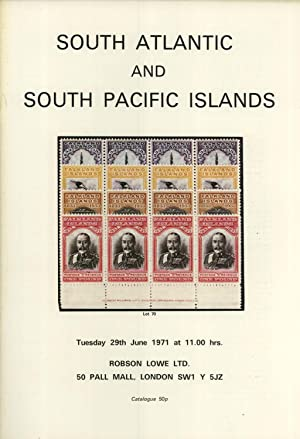 South Atlantic and South Pacific Islands, Tuesday 29th June 1971 At 11.00 Hrs.